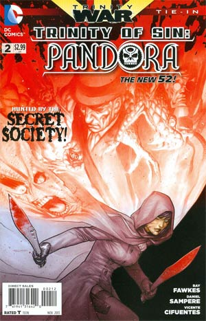 Trinity Of Sin Pandora #2 Cover C 2nd Ptg (Trinity War Tie-In)