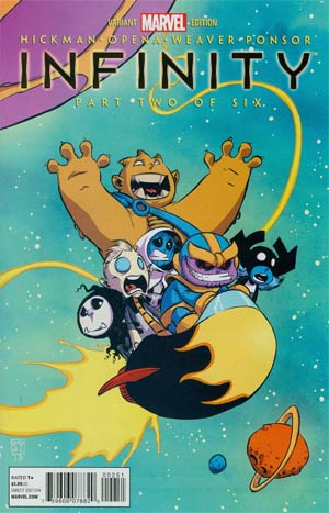 Infinity #2 Cover B Variant Skottie Young Baby Cover