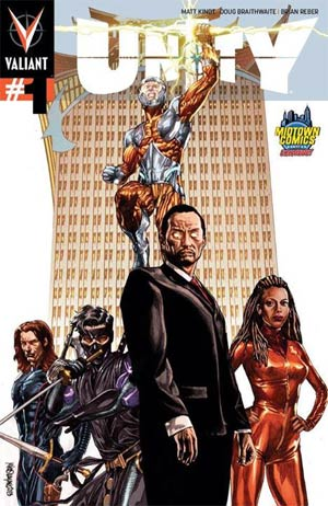 Unity Vol 2 #1 Cover M Midtown Exclusive Mico Suayan Variant Cover