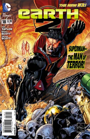 Earth 2 #18 Cover A Regular Ethan Van Sciver Cover