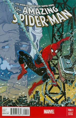 Amazing Spider-Man Vol 2 #700.1 Cover B Variant Klaus Janson Cover