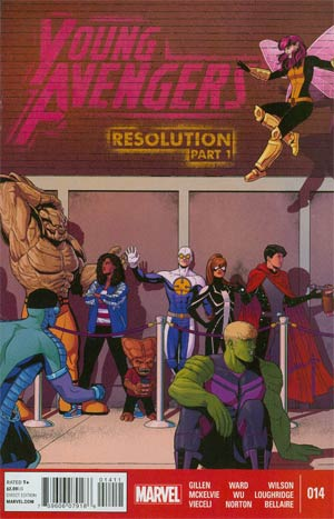 Young Avengers Vol 2 #14