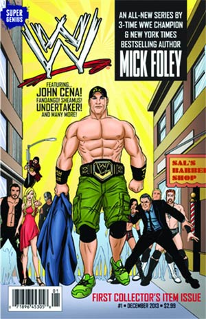 WWE Superstars #1 Regular Cover (Filled Randomly With 1 Of 4 Covers)