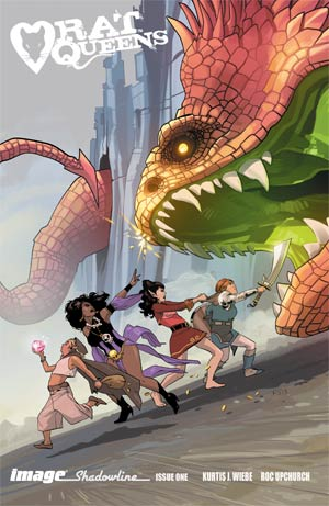Rat Queens #1 Cover B Incentive Fiona Staples Variant Cover