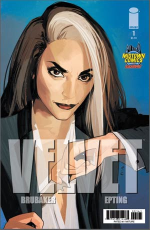 Velvet #1 Cover B Midtown Exclusive Fiona Staples Variant Cover