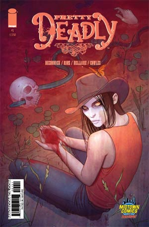 Pretty Deadly #1 Cover B Midtown Exclusive Jenny Frison Variant Cover