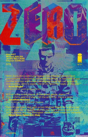 Zero #1 Cover D 2nd Ptg
