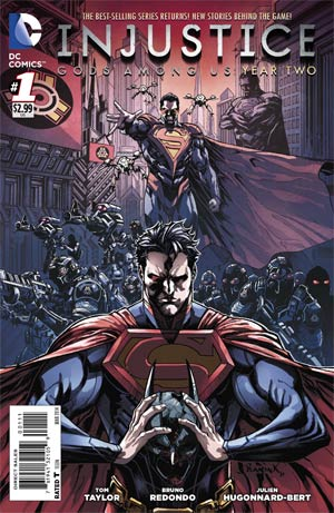 Injustice Gods Among Us Year Two #1