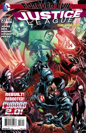 Justice League Vol 2 #27 Cover A Regular Ivan Reis Cover (Forever Evil Tie-In)