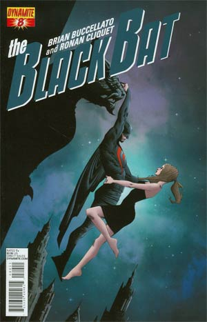 Black Bat #8 Cover A Regular Jae Lee Cover