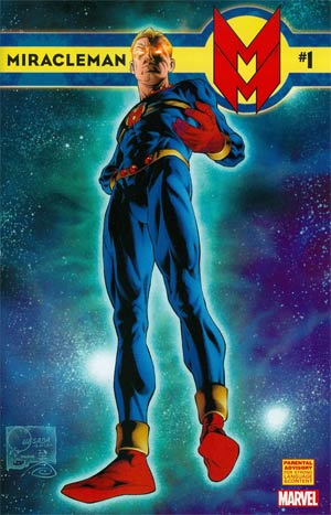 Miracleman (Marvel) #1 Cover A Regular Joe Quesada Cover
