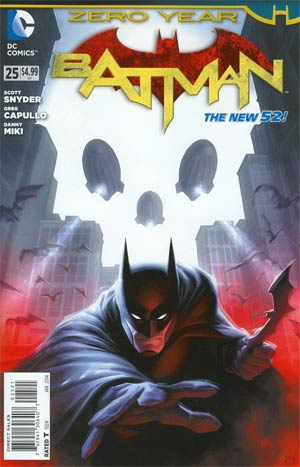Batman Vol 2 #25 Cover D Incentive Ken Hunt Variant Cover (Batman Zero Year Tie-In)