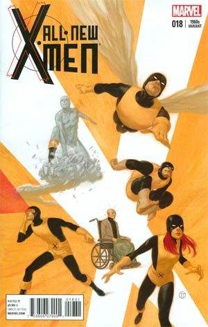 All-New X-Men #18 Cover B Variant Julian Totino Tedesco X-Men In The 1960s Cover