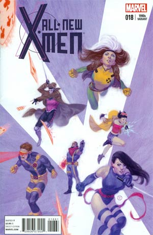 All-New X-Men #18 Cover E Variant Julian Totino Tedesco X-Men In The 1990s Cover