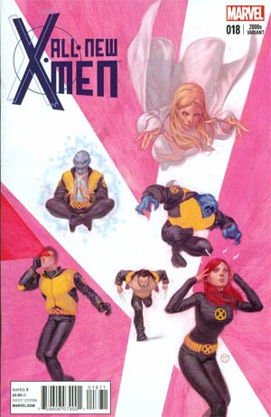 All-New X-Men #18 Cover F Variant Julian Totino Tedesco X-Men In The 2000s Cover