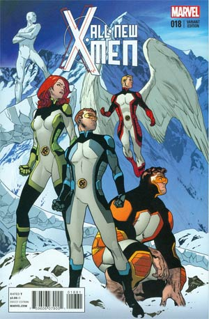 All-New X-Men #18 Cover G Incentive Stuart Immonen Variant Cover