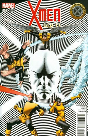 X-Men Gold #1 Cover B Variant John Cassaday Cover
