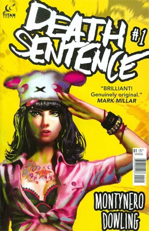 Death Sentence #1 Cover D 2nd Ptg