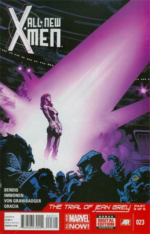 All-New X-Men #23 Cover A 1st Ptg Regular Stuart Immonen Cover (Trial Of Jean Grey Part 3)