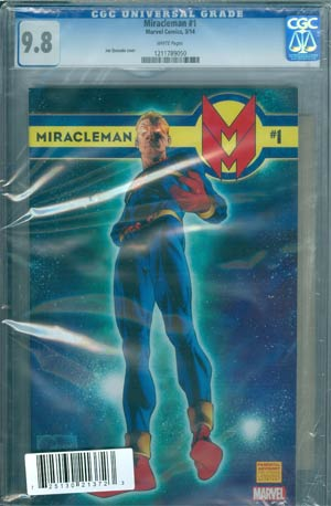 Miracleman (Marvel) #1 Cover I DF CGC 9.8