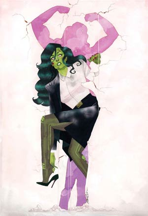 She-Hulk Vol 3 #1 By Javier Pulido Poster