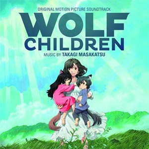 Wolf Children Original Soundtrack CD