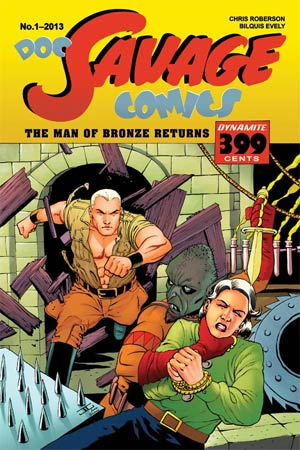 Doc Savage Vol 5 #1 Cover B Variant John Cassaday VIP Cover