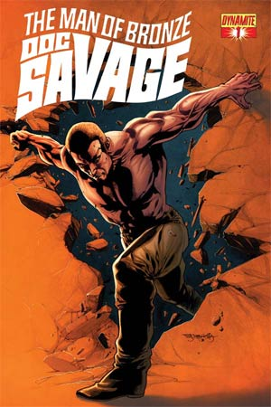 Doc Savage Vol 5 #1 Cover C Variant Stephen Segovia Retailer Shared Exclusive Cover