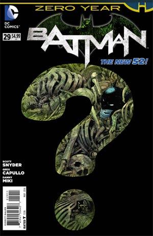 Batman Vol 2 #29 Cover A Regular Greg Capullo Cover (Zero Year Tie-In)