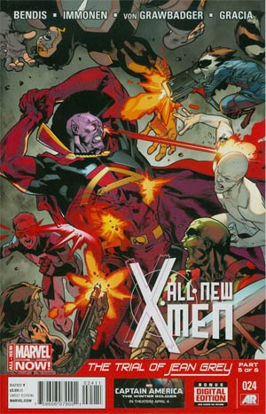 All-New X-Men #24 Cover A Regular Stuart Immonen Cover (Trial Of Jean Grey Part 5)
