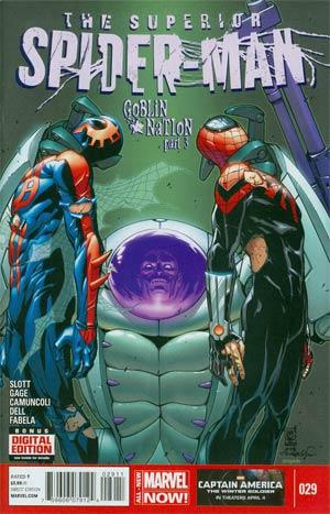 Superior Spider-Man #29 Cover A Regular Giuseppe Camuncoli Cover