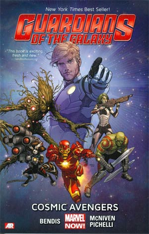 Guardians Of The Galaxy Vol 1 Cosmic Avengers TP