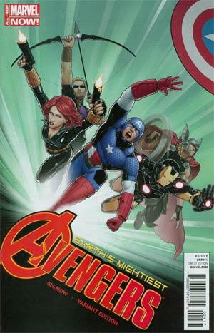 Avengers Vol 5 #24.NOW Cover M Variant Avengers Covers X-Men By John Tyler Christopher Cover