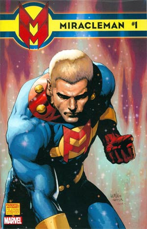 Miracleman (Marvel) #1 Cover E Incentive Leinil Francis Yu Variant Cover