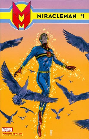 Miracleman (Marvel) #1 Cover G Incentive Mark Buckingham Variant Cover