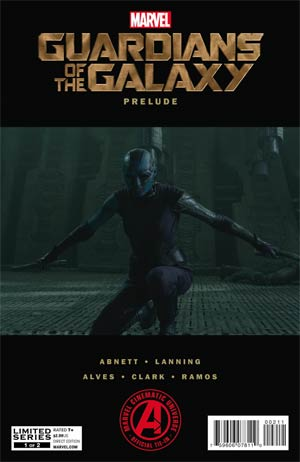 Marvels Guardians Of The Galaxy Prelude #1