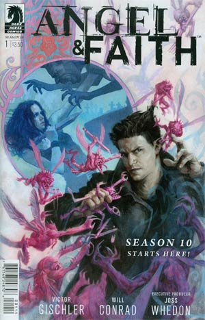 Angel And Faith Season 10 #1 Cover A Regular Scott Fischer Cover