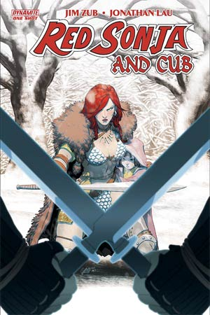 Red Sonja And Cub One Shot