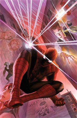 Amazing Spider-Man Vol 3 #1 75th Anniversary By Alex Ross Poster
