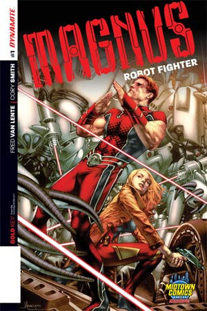 Magnus Robot Fighter Vol 4 #1 Cover D Midtown Exclusive Jay Anacleto Variant Cover