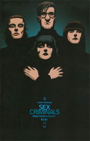 Sex Criminals #3 Cover C 3rd Ptg
