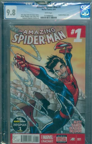 Amazing Spider-Man Vol 3 #1 Cover U DF CGC 9.8
