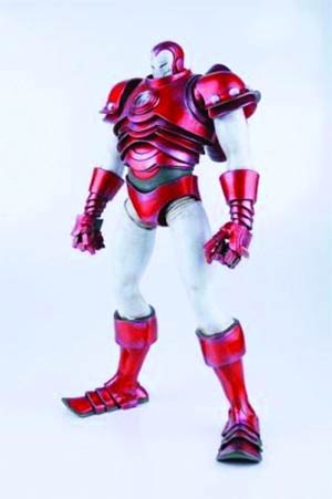 3A x Iron Man Figure - Silver Centurion