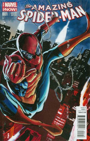 Amazing Spider-Man Vol 3 #1 Cover G Variant Pop Mhan Cover