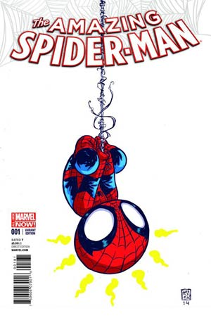 Amazing Spider-Man Vol 3 #1 Cover H Variant Skottie Young Baby Cover