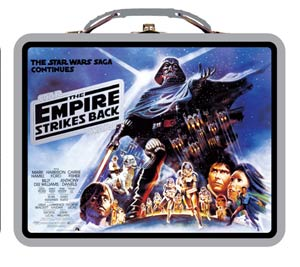 Star Wars Embossed Large Tin Lunch Box - Empire Strekes Back
