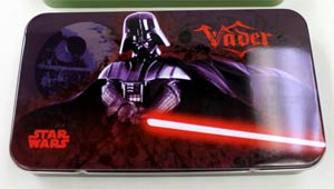 Star Wars Tin Storage Box - Darth Vader