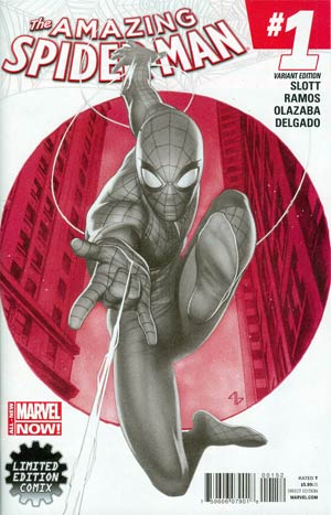 Amazing Spider-Man Vol 3 #1 Cover E Limited Edition Comix Adi Granov Sketch Cover