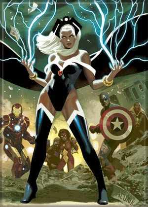 Marvel Comics 2.5x3.5-inch Magnet - Storm With Lightning (71141MV)