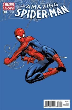 Amazing Spider-Man Vol 3 #1 Cover K Incentive Ed McGuinness Variant Cover